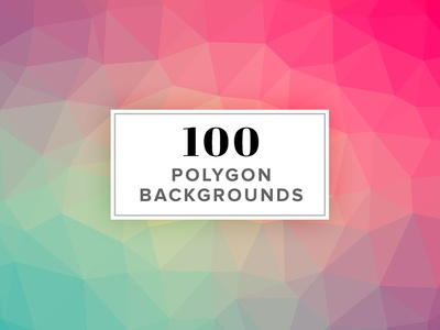 100 Polygon Background Images