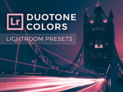 Duotone Colors – 10 Lightroom Presets
