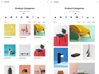 E-Commerce Minimal Website Product Page