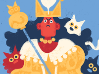 Queen of Cats (crop)