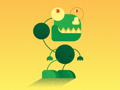 Ptizilla dribbble