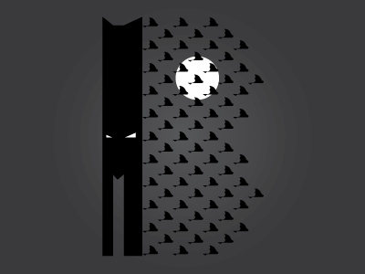 B batman dribbble