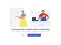 Success Message - Business Locations Setup