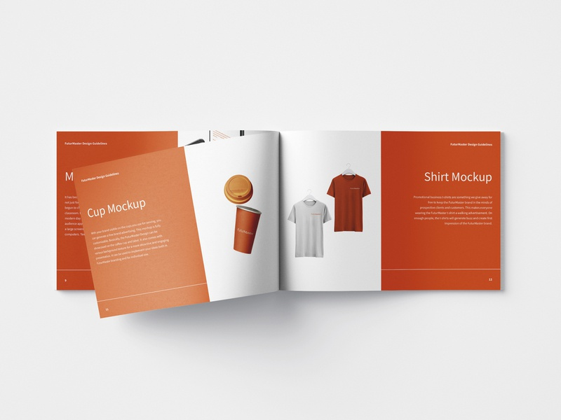 FuturMaster Branding Identity and Mockups