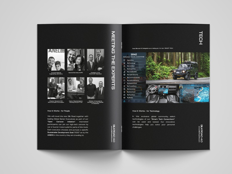 SilkRoad 4.0 Brochure Layout Design
