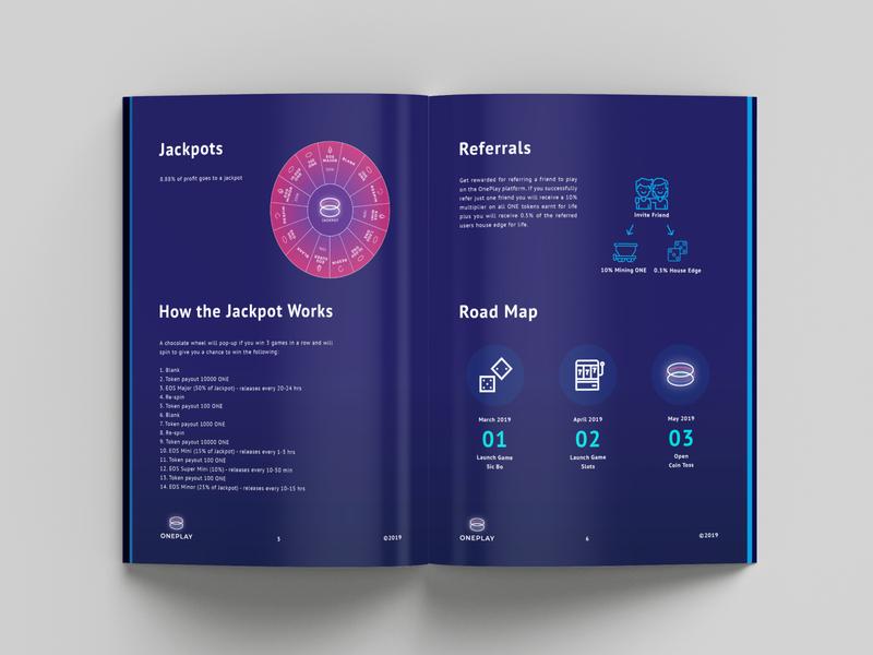 OnePlay Brochure Design