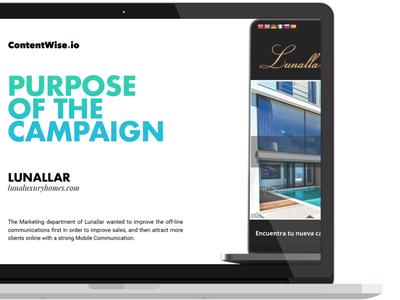 ContentWise.io Lunallar Campaign Presentation