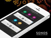 Sonos iPhone App Concept