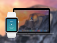 Apple Watch - Force Touch to Unlock