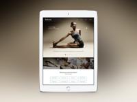 Lifestyle Site - iPad Layout