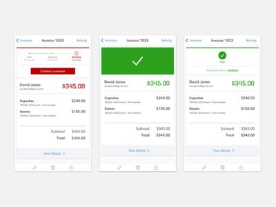 Mobile Invoice Tracker