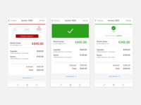 Mobile Invoice Tracker