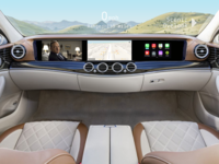 Self-Driving Infotainment Dashboard