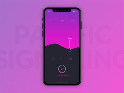 Utility Monitoring App on iPhone X
