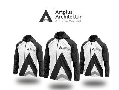 Artplus logo branding logodesign architect black clean logo design modern architecture logo
