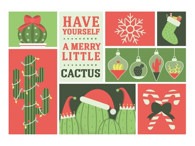 Have Yourself A Merry Little Cactus