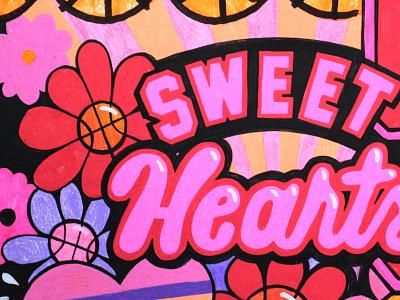 Sports stuff! WIP basketball sports paint posca acrylic