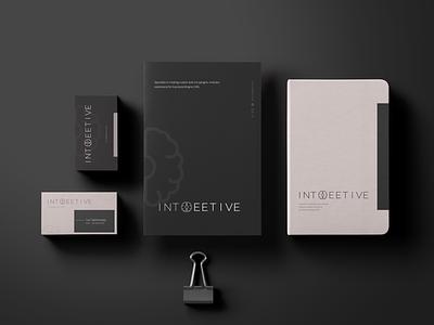Branding. Intoeetive nut logo brain logo dark branding minimalistic logo logodesign branding