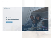 NPH - Homepage redesign concept