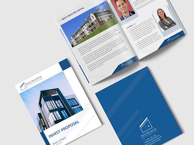 Moultrie Capital - Brochure brochure design brochure layout brochure