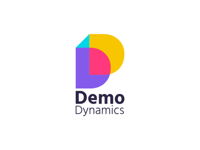DemoDynamics logo design logo vector