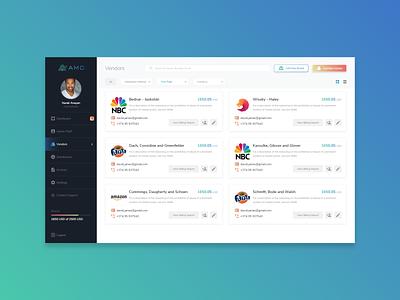 Dashboard UX/UI web design ui ux