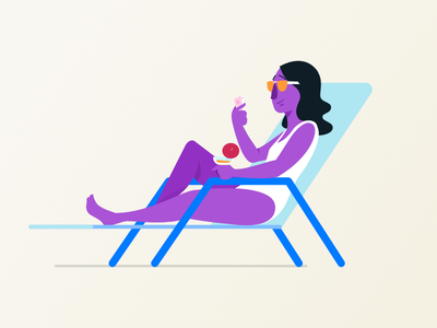 Lounging sunglasses sunbathing chair smartphone poolside relaxing beach lounging