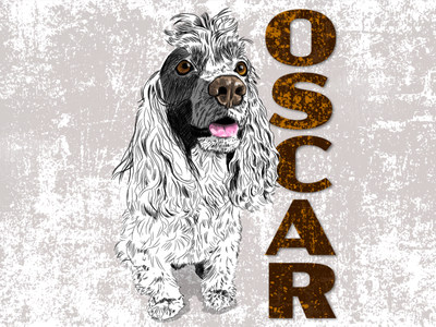 Oscar the Cocker Spaniel