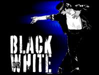 Michael Jackson Black or White illustration
