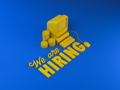 We're hiring! Creative Services Manager 3d cinema4d 4d creative services hiring job listing job