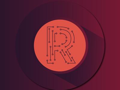 Circuitry R (Logo Option)