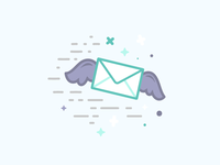 Email gives you wings