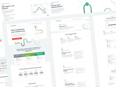 Usermind Website design 👩💻 saas b2b website webflow ux web  design design ui web
