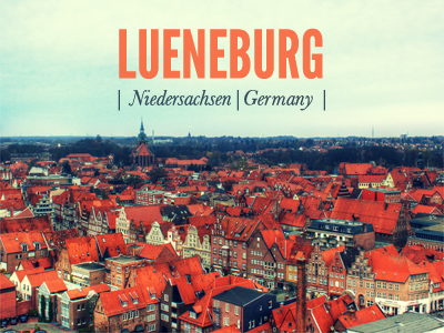 Lueneburg my favourite place is the city i live in