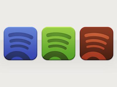 Spotify Triads psd spotify icon triad