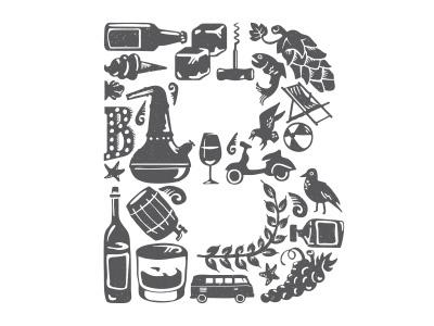 The Brighton Co. brighton illustration branding logo