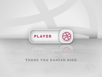 Dribbble Thanks dribbble invite thank you player first shot