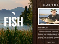 Fishing Website