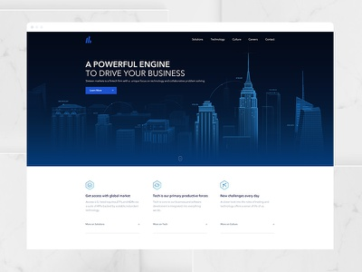 Financial Website blockchain pc ux web illustration tech technology official