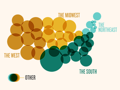 US Map Infographic by The Lower Westside Design Company   Dribbble