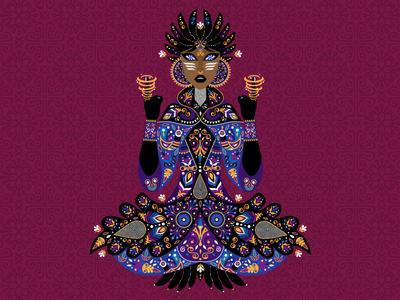 Goddess of Wind elements natures wind goddess