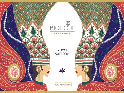 BIOTIQUE - Perfume Packaging Design