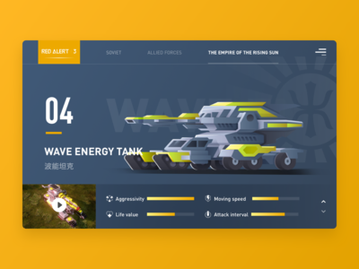 Wave energy tank