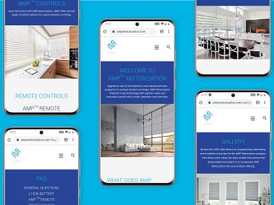 AMP Mobile Mockup mobile design mobile ui mobile website design web design webdesign web website ux design ui graphic design