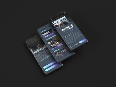 Witness The Fitness App mobile design mobile ui mobile app dailyuichallenge dailyui graphic design ui