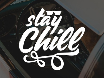 Stay Chill 2 shirt design cool sunglasses chill t-shirt typography