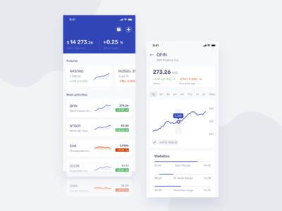 Finance Concept UI