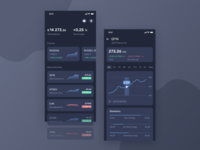 Finance Concept UI [Dark Theme]