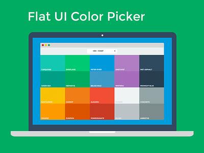 Flat UI Color Picker flat freebie free colors colour designmodo html5 html css css3 color picker flat design flat ui color theme color theme flat ui colour picker