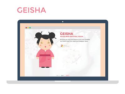 Geisha for designers geisha design dribbble news layervaut designer designer news chrome extension